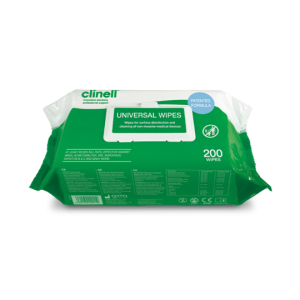 Clinell Universal Wipes - flow-pack 200 szt.