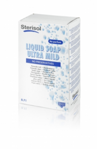 Sterisol Liquid Soap Ultra Mild 700ml