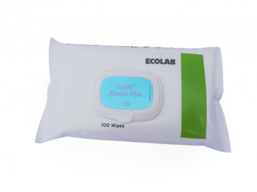 Lumamed IIncidin Alcohol Wipe flow-pack